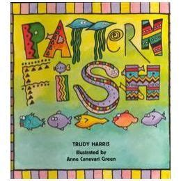 quot pattern fish quot by trudy harris book amp pattern activities 508 | 05e54e3be1a4b63e8aed03214cf25240