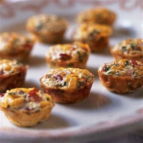 light breakfast ideas mini frittatas with ham and cheese grab and go