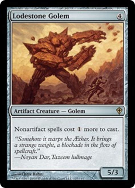 Magic The Gathering Golem Deck by Lodestone Golem The Magic The Gathering Wiki Magic