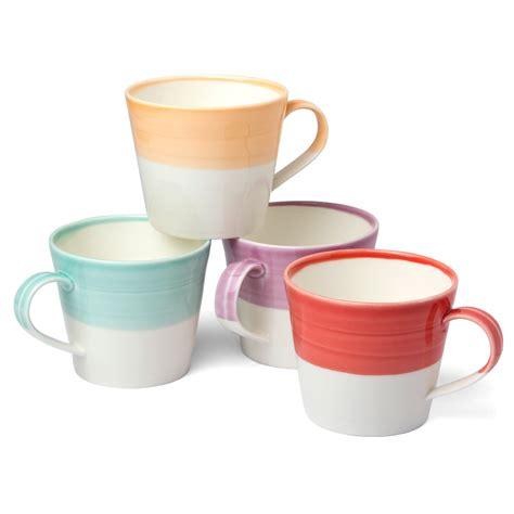 cuisine au mug royal doulton 1815 bright warm colours mug set 4pce