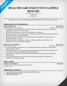 healthcare executive resume templates healthcare executive resume http resumecompanion health career resume sles across