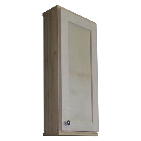 unfinished wood bathroom wall cabinets shaker series unfinished wall cabinet overstock shopping