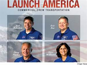 Nasa Picks 4 Astronauts to Fly First Commercial Space ...