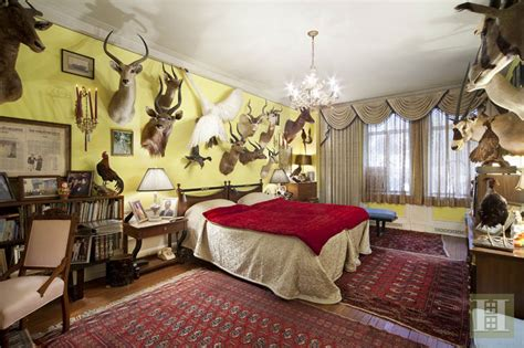 kimberly guilfoyle apartment west central park animals host room 4m buys taxidermied fox 6sqft streeteasy 3j