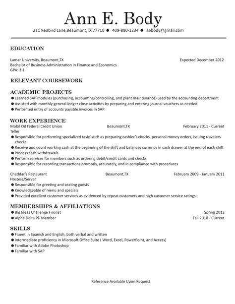 finance economics resume by lamar dept of