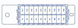 Daewoo Nexia 2012 Passenger Fuse Box  Block Circuit Breaker