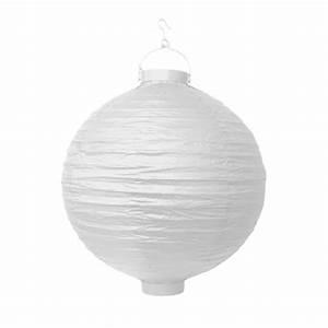 Lampions Mit Led : led lampion 30 cm wei ~ Watch28wear.com Haus und Dekorationen
