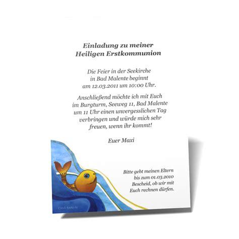 kommunion einladungskarten kommunion einladung karten muster