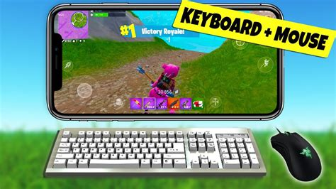 fortnite mobile keyboard  mouse  android ios