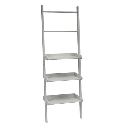 ladder shelf white riverridge home riverridge ladder shelf white home