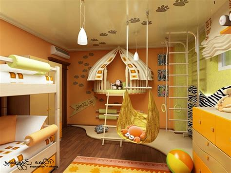 Awesome Kids Rooms At Home Interior Designing