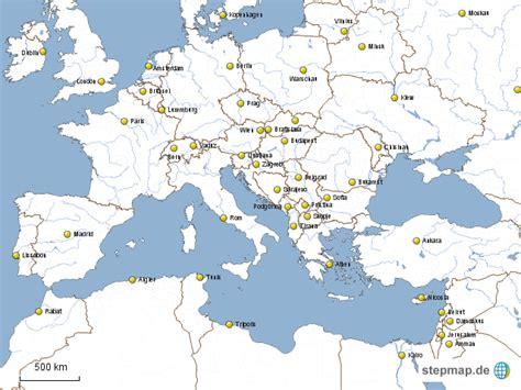 stepmap europa und nordafrika weisshauptstaedte