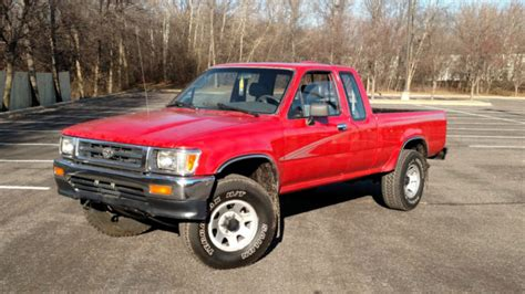 Toyota Tacoma Extended Cab Pickup Red For Sale