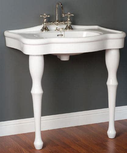 bathroom sink consoles vintage lavatory consoles victorian style 2 legged bathroom sinks