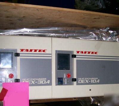 Taitec lam heat exchanger dex-30A