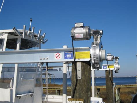Boat Lift Pics by Boat Lift Is Done Pics The Hull Boating And