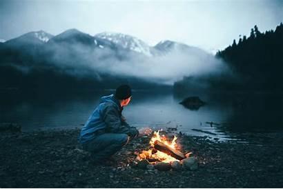 Fireplace Fire Nature Landscape Desktop Wallpapers Backgrounds