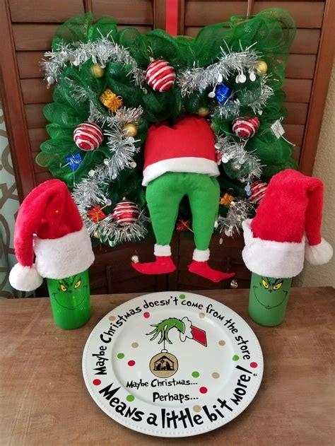 grinch crafts  diy decorations   leap