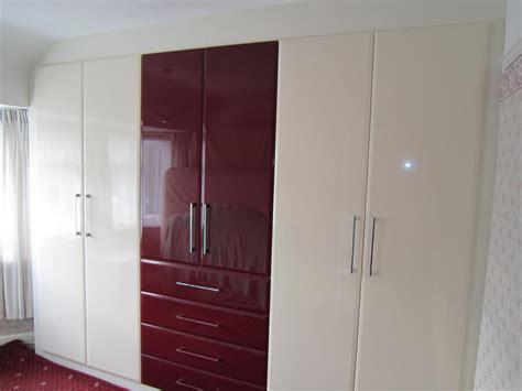 High Gloss Wardrobes by Gloss Wardrobes Bespoke Bedroom Furnitue