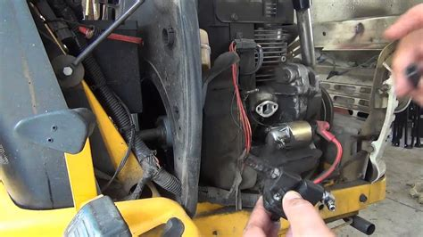 hp kohler command ohv fuel pump replacement youtube