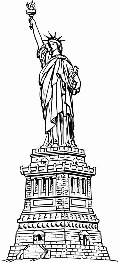 Liberty Statue Famous Buildings Formats