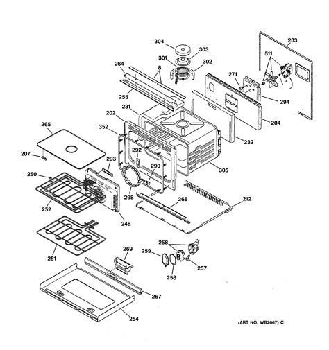 ge model zetsbss built  oven electric genuine parts