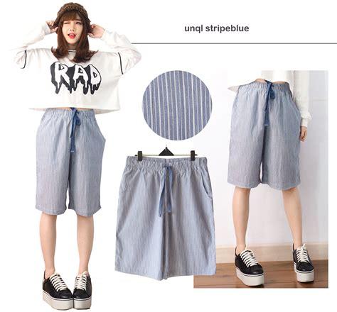 celana kulot stripe 106 rz buy trend item casual celana kulot santai