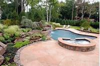 interesting pool and patio design ideas Landscaping Ideas By NJ Custom Pool & Backyard Design Expert