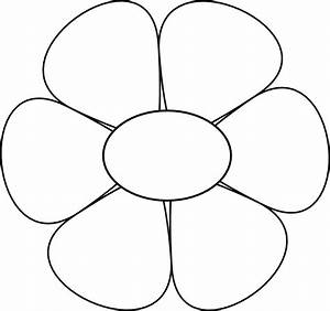 Daisy Outline Clip Art | www.imgkid.com - The Image Kid ...