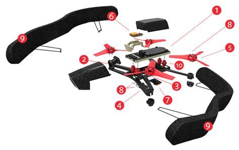 drone quadrocopter boasts mp camera runs linux