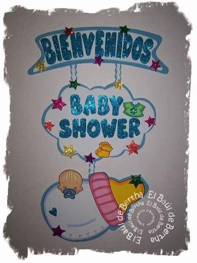 EL BAÚL DE BERTHA MANUALIDADES: Letrero Para Baby Shower