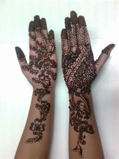 Mehndi Henna Arabic Designs Hand Bridal Hands