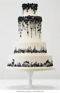 black and white wedding cake 49 amazing black and white wedding cakes deer pearl flowers
