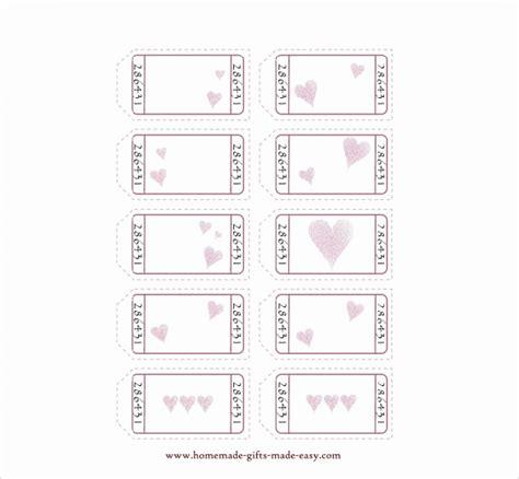 love coupon templates psd ai eps