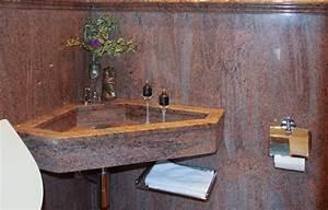 Waschbecken Aufsatz Für Badewanne : natursteine f r badezimmer dusche badewanne toiletten ~ Markanthonyermac.com Haus und Dekorationen
