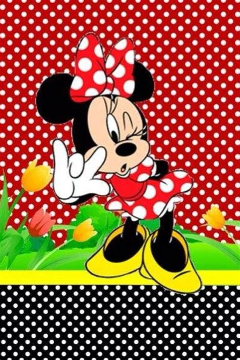 minnie mouse wallpaper red gallery