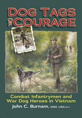 dog tags  courage combat intfantrymen  war dog