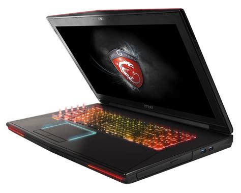 high end lighting msi unveils gt72 dominator pro gaming laptop