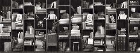 books black and white wallpaper bookshelf bookshelves wallpaper with inspiration from