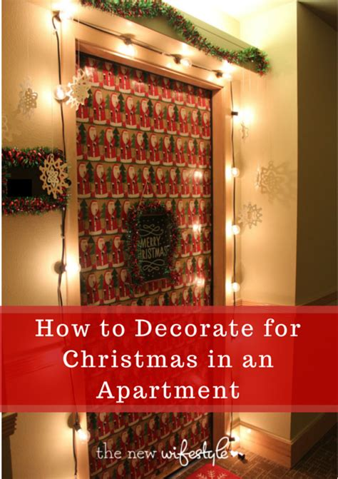 decorate  christmas   apartment great tips