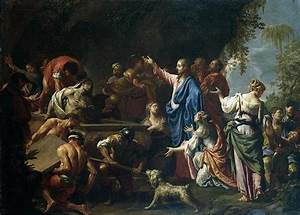 The raising of Lazarus - Trevisani Francesco | Images of ...