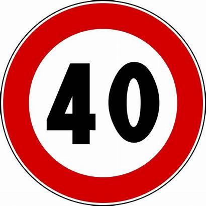 40 Limite Signs Traffic Di Svg Anni