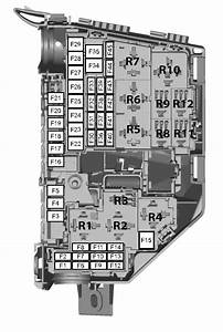 Ford Mondeo Mk4  01  02  2007  U2013 19  08  2007   U2013 Fuse Box Diagram  Eu Version