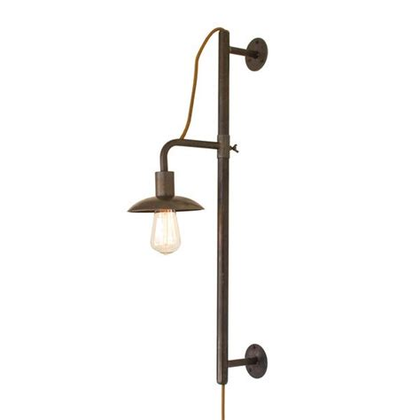 industrial modern vertically adjustable edison in wall sconce woodwaves