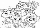 Coloring Cats 44 Printable Youloveit Lol Cat Winx Pilou Omg Club Wallpapers Adults Gatti Kittens Colorare Da Couture Cartoons Dolls sketch template