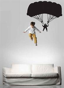 Parachutist Parachute Parachuter Decal Sky Diving