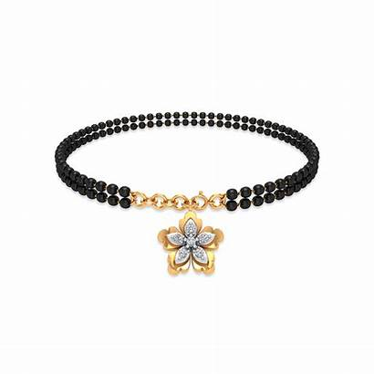 Bracelet Gold Diamond Mangalsutra Bracelets Yellow Gadgil