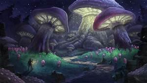 Mushroom Forest by Niksibaksen on DeviantArt