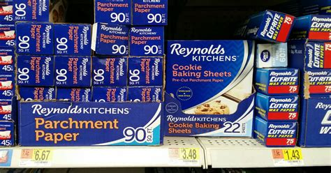 baking reynolds sheets cooking familysavings coupon