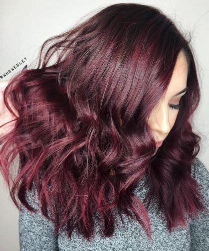 (27) Best Burgundy Hair Color Ideas (Highlights, Ombre ...
